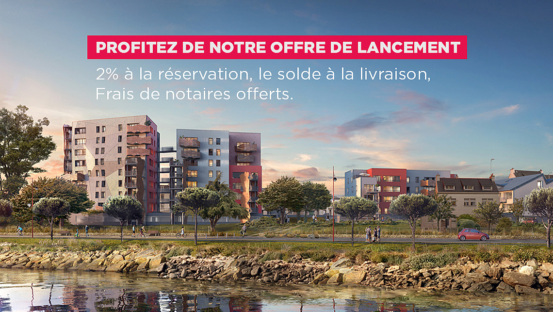 Immobilier neuf à Lanester