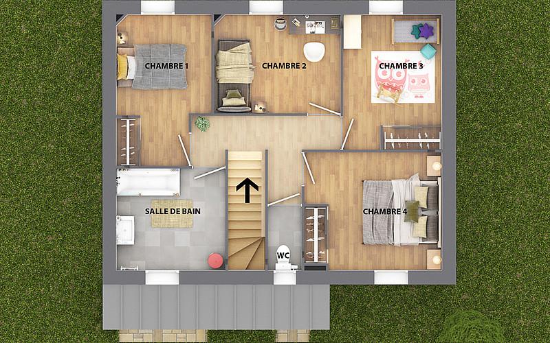 Construction de Maison neuve individuelle : nos modèles ...